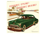 GM Oldsmobile-Futuramic Styling