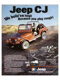 Jeep CJ - We Build 'Em Tough
