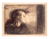 The Sick Girl  1896