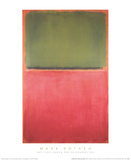 Untitled (Green  Red on Orange  1951)
