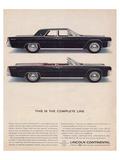 Lincoln 1963 - Complete Line
