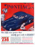 GM Pontiac - Six Wins Praise