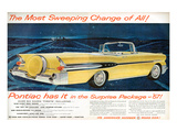 GM Pontiac '57 Sweeping Change