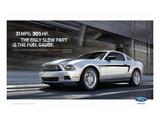 Mustang 2011 - 31Mpg - 305Hp