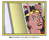 Reflections on Minerva Reproduction d'art par Roy Lichtenstein