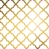 Gold Lattice I (gold foil)