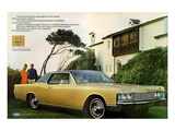 Lincoln 1968 Coupe Roof Line