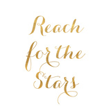 Reach for the Stars (gold foil)