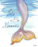Mermaid Tail II Reproduction d'art par Elizabeth Medley