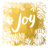 Gold Merry Joy I (gold foil)