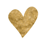 Romantic Icon III (gold foil)