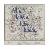 Take a Hike  Buddy - 1881  Yellowstone National Park 1881  Wyoming  United States Map