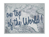On Top of the World - 1983 Arctic Ocean Map Giclée par National Geographic Maps