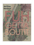 FUHGETTABOUTIT - 1867  New York & Brooklyn Plan  New York  United States Map