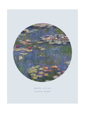 Old Masters  New Circles: Water Lilies (Nympheas)  c1916