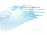 Wings in the Sky with Hope