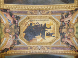 The Resistance of Paris  Ceiling Painting from the Galerie Des Glaces