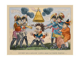 The Head of the Great Nation in a Queer Situation  1813