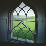View from a Gothic Window in the Top Floor Flat Looking Towards the Parkland