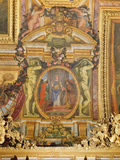 Ambassadors Arriving from All Corners of the Earth  Ceiling Painting from the Galerie Des Glaces