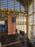 View Inside Ronald Reagan National Airport  Arlington  Virginia