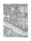 A Map of the Tower of London  1746
