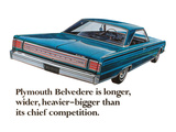 Plymouth Belvedere is Longer…