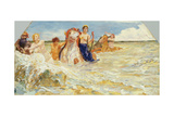 Sea Gods in the Surf  1884-85