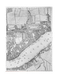 A Map of Wapping  London  1746