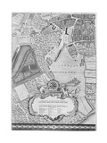 A Map of Tothill Fields  London  1746