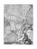 A Map of St George's Fields and Newington Butts  London  1746