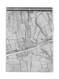 A Map of Mile End  London  1746