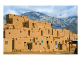 Taos Pueblo in New Mexico Usa