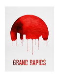 Grand Rapids Skyline Red