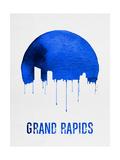 Grand Rapids Skyline Blue