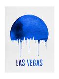 Las Vegas Skyline Blue