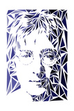 Lennon, John Reproduction d'art par Cristian Mielu