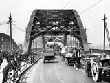 Wearmouth Bridge in Sunderland in the 1930s