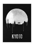 Kyoto Skyline Black