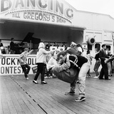 Couple Dancing to Bill Gregory's Band August 1958
