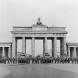 East and West Berlin Border 1961