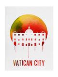 Vatican City Landmark Red