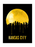 Kansas City Skyline Yellow