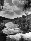 A view of the river Tummel 1946
