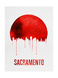 Sacramento Skyline Red