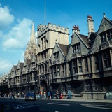 A view of Brasenose college in Oxford  1973