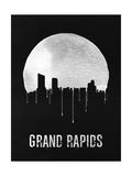 Grand Rapids Skyline Black