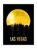 Las Vegas Skyline Yellow
