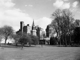 A View of Cardiff Castle  Wales  Circa 1940