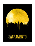 Sacramento Skyline Yellow